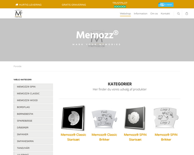 memozz.dk website