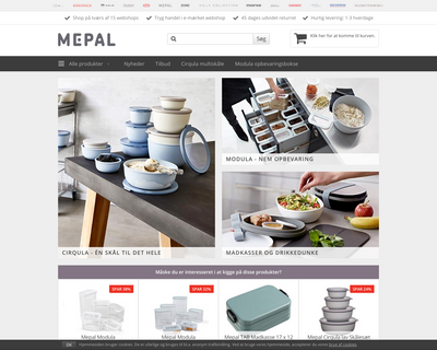 mepalshop.dk website