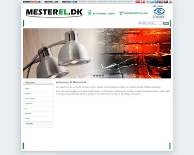 mestershoppen.dk website