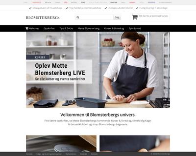 metteblomsterberg.dk website