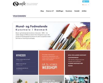 mfk.dk website