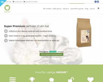 miiaw.dk website