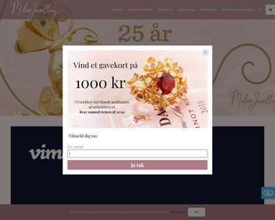 milas.dk website