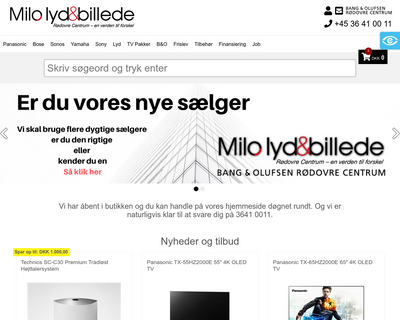 milolydogbillede.dk website