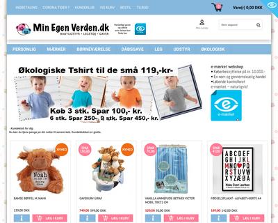 minegenverden.dk website