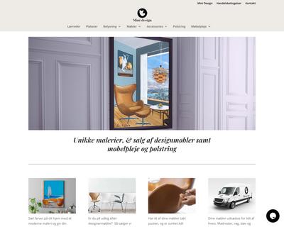 minidesign.dk website