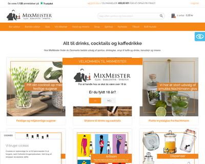 mixmeister.dk website
