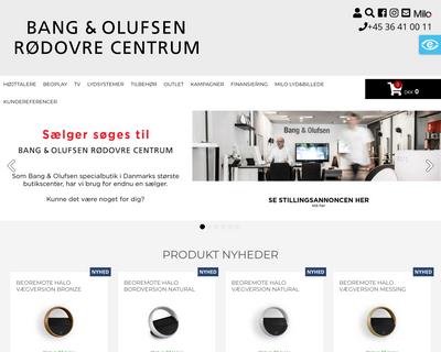 mlbcentrum.dk website