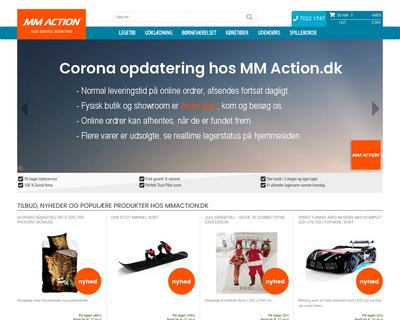 mmaction.dk website