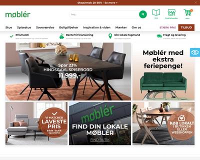 mobler.dk website