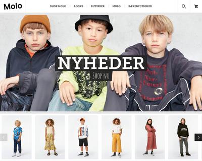 molo.dk website