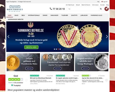 monthuset.dk website
