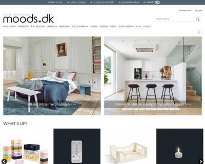 moods.dk website
