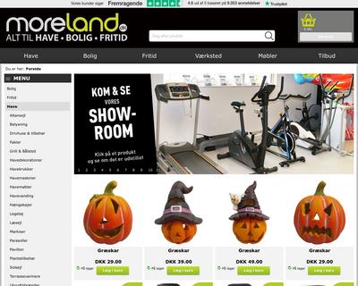 moreland.dk website