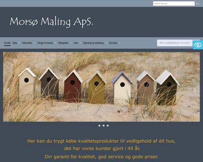 morsmaling.dk website