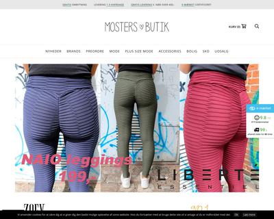 mostersbutik.dk website