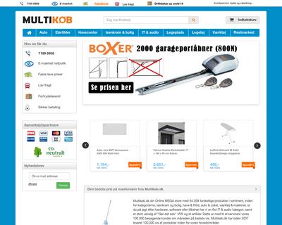 www.multikoeb.dk website