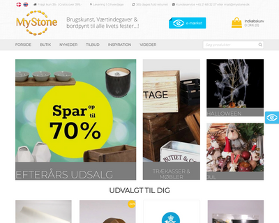 mystone.dk website