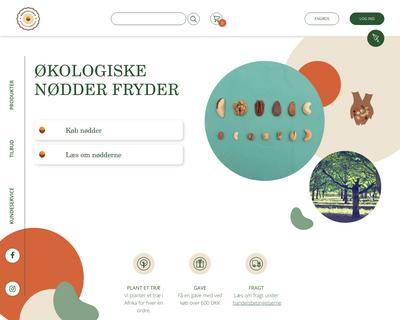 nøddebazaren.dk website