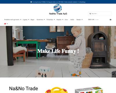 nanotrade.dk website