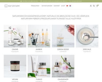 naturfarm.dk website