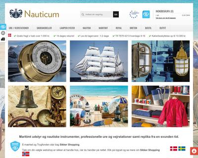 nauticum.dk website