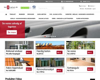 net2traelast.dk website