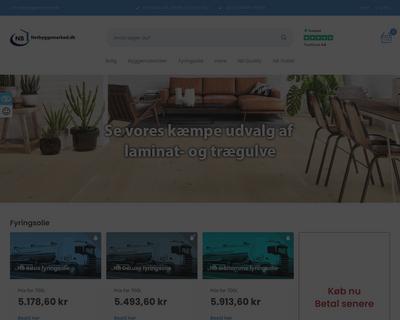netbyggemarked.dk website