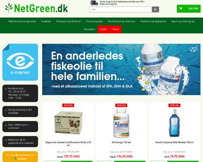 netgreen.dk website