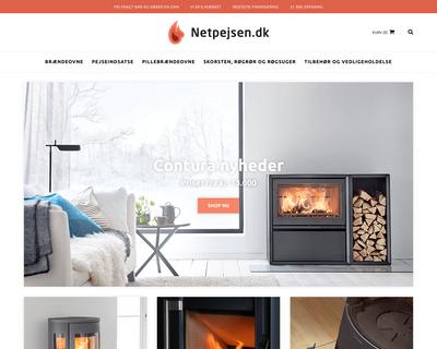 netpejsen.dk website
