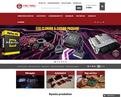 nic-tec.com website
