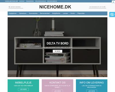 nicehome.dk website