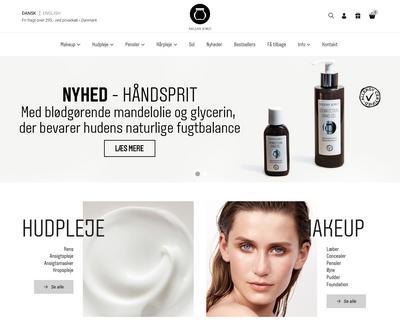 nilensjord.dk website