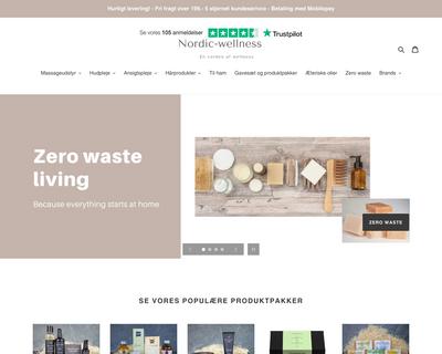 nordic-wellness.dk website