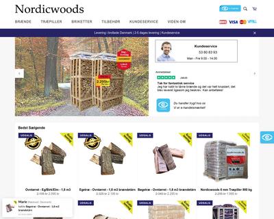 nordicwoods.dk website