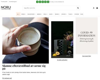 noru.dk website