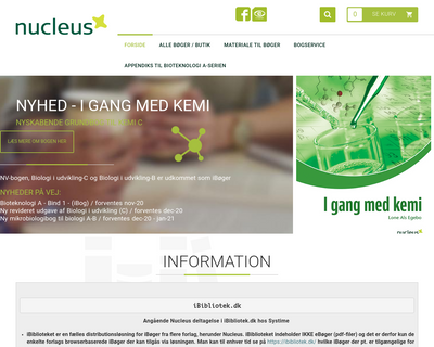 nucleus.dk website