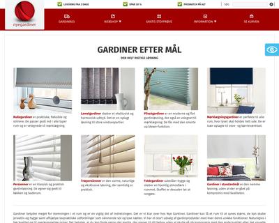 nyegardiner.dk website