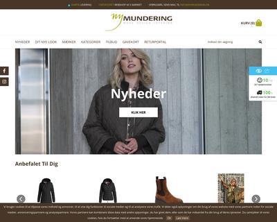 www.nymundering.dk website