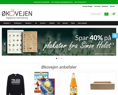 oekovejen.dk website