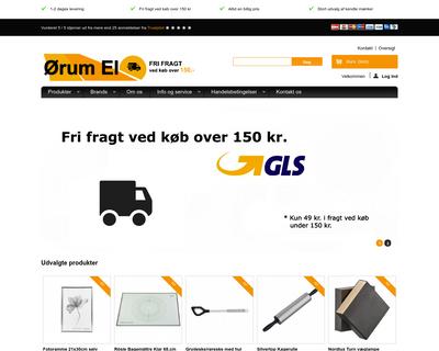 oerum-el.dk website