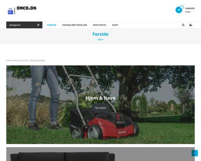 onco.dk website