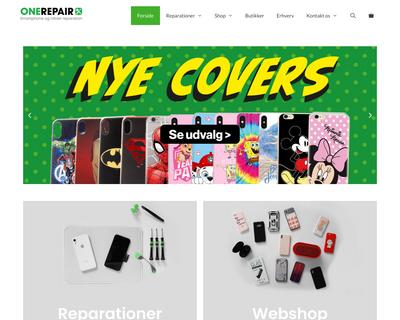 onerepair.dk website