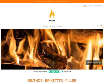 onfire.nu website