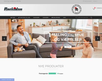 online.rockidan.dk website
