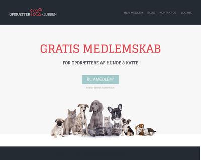 www.petland.dk website