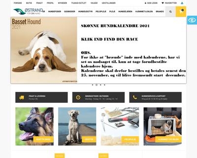 ostrand.dk website