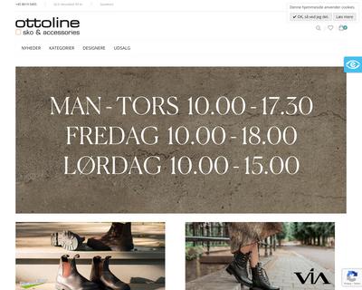 ottoline-sko.dk website