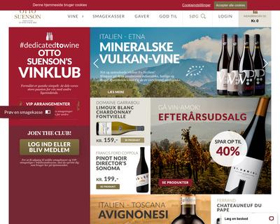 ottosuenson.dk website