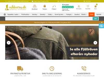 outdoornu.dk website